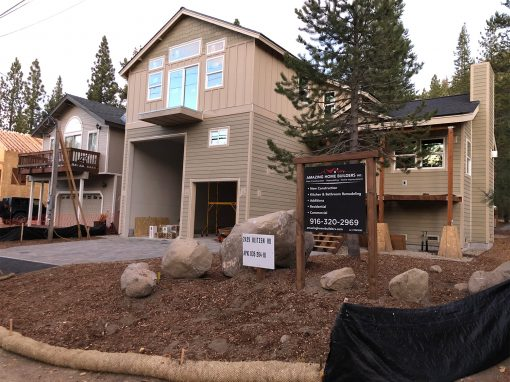New Construction – Blitzen rd. South Lake Tahoe, CA