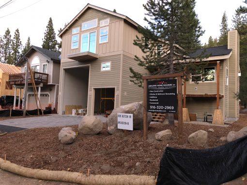 New Construction – Blitzen rd. South Lake Tahoe, CA